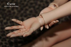 DikaDoll Jointed Hands by Kuliii