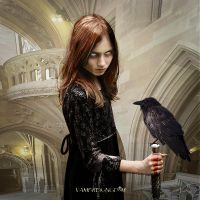 The Witch of the Abbey by vampirekingdom
