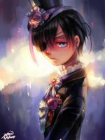 Black butler- Ciel by christon-clivef