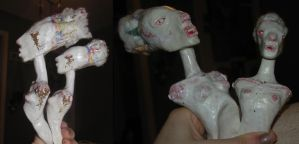 cotton candy heads by ccaammoo