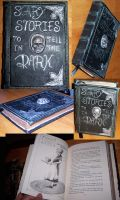 Scary stories to tell in the dark, custom Leather by Chaosthered