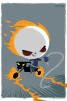 Ghost Rider:Bubblehead by JeffVictor