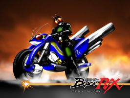 black rx cycle acrobattle by Kaieitenjitsu
