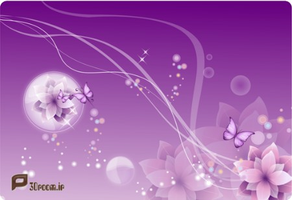 FloralPurple_Backgrounds by p30room