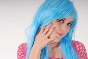Blue hair Emily by memersonphotographic