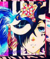 ~Ciel Phantomhive Drawing | Masquerade ~ by AndiAnime