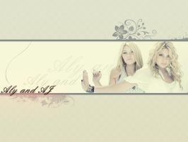 Wallpaper Aly and AJ by andzia89