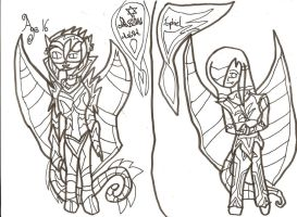 Character Sheet 21: Uncoloured by xxxBrokenSoulxxx