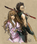Diarmuid and Grainne by Arccus