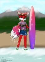 Surfer Rosebuster by Waterotica