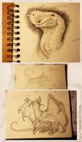 The first drawings of the year by Spighy
