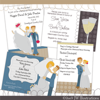 Getting Married Premade Invite by jdDoodles