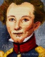 Minuscule Carl von Clausewitz by Paintsmudger