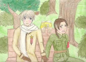 APH- Russia and China by shadowxneji