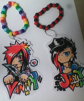 .:BOTDF Kandi Badges:. by Mako-Eyed