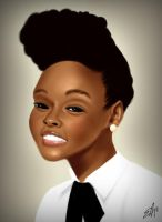 Janelle Monae by emarcellus