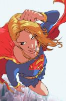 Supergirl by amilcar-pinna