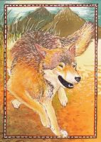 On Top of the World ACEO by Redwall151