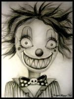 Creepy Clown by TriggerHappyNat