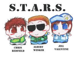 S.T.A.R.S. by meandalbert