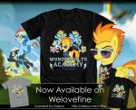 Wonderbolts Academy_Tee by Tsitra360