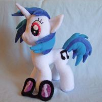 Vinyl Scratch Plushie by scilk