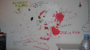 MY WALL by DoomSong8765