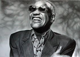 Ray Charles by donchild