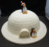 Igloo Cake by ninny85310