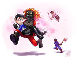 TF2 - Valentine Kidnapping by Tanita-sama