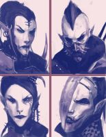 Dark Eldar: We are Pain 3 by Beckjann