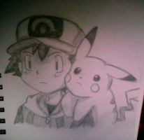 Ash Ketchum by XSlappyTheDummyX