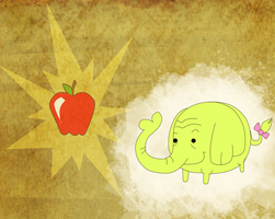 Tree Trunks Wallpaper by Effulgently