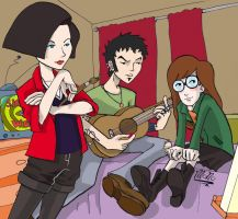 Daria Trent and Jane by monons