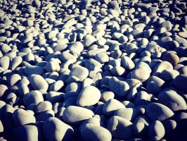 Pebbles pebbles and more pebbles by ARAart