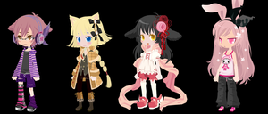 Free Kenomimi Selfy Adopts - CLOSED by pinkdopts