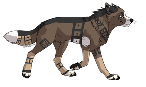 Wolf Auction 8 closed by axelsadoptables