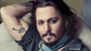 Johnny Depp by RayZorZedge