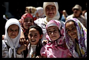 girls of the blue mosque by janati