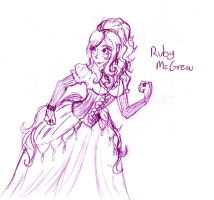 Ruby McGrew by FuneralDyingheart