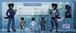 [CLOSED] Canine/Deer Anthro Adoptable by Vensauro