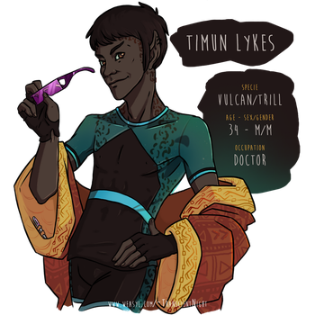 DS9 - Timun by noxfoxArts