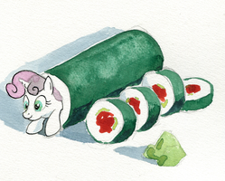 Sushi Belle by AmbroseButtercrust