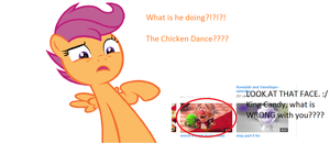 He's Doin the Scootaloo Dance by annabre24
