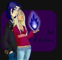 ted and victoire by Indiewikkan