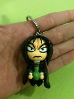 Severus Snape Polymer Clay Keychain by anapeig