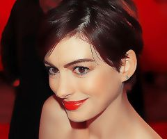 Anne-Hathaway-Red by Sweet-Tizdale