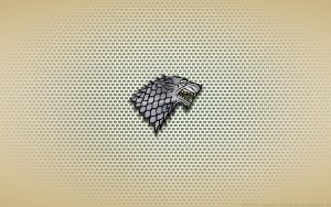 Wallpaper - House Stark Logo by Kalangozilla