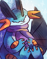 swampert by blubified