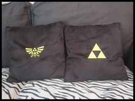 Zelda Pillows by Miss-Zeldette